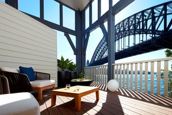 Sydney Harbour View Balcony Suite