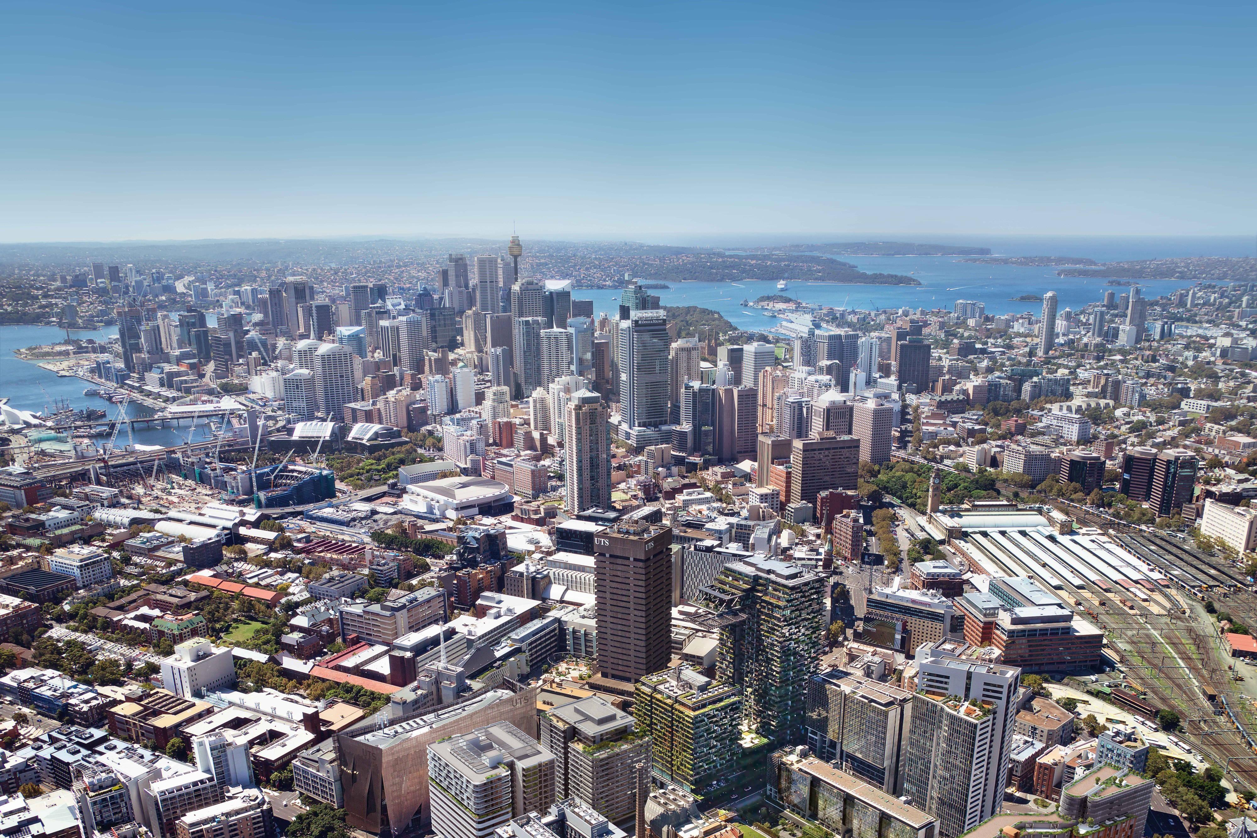 Aerial View Rendering