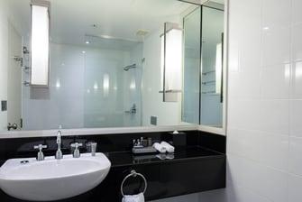 シドニーハーバーのホテルのバスルーム