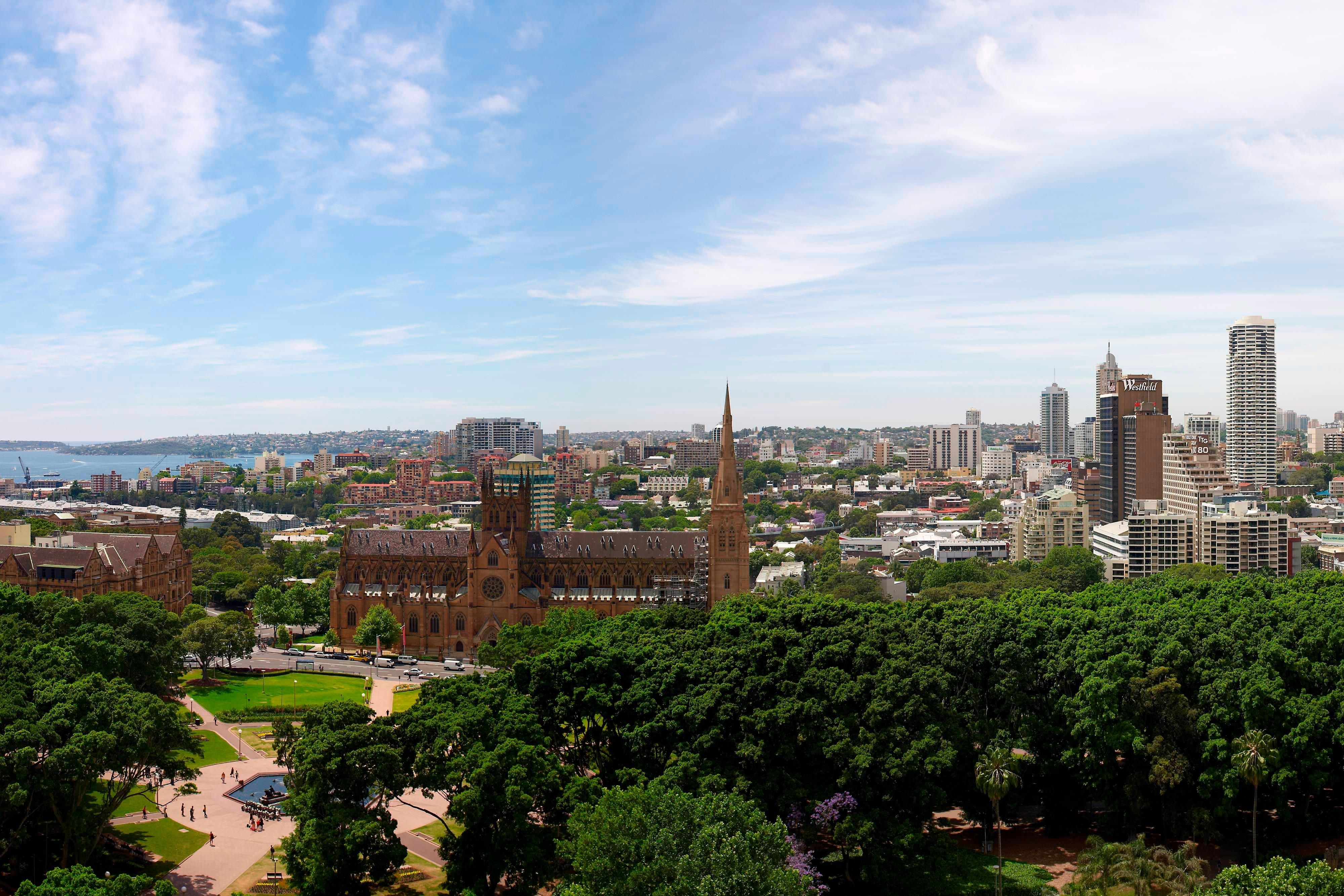 ハイドパークの眺め