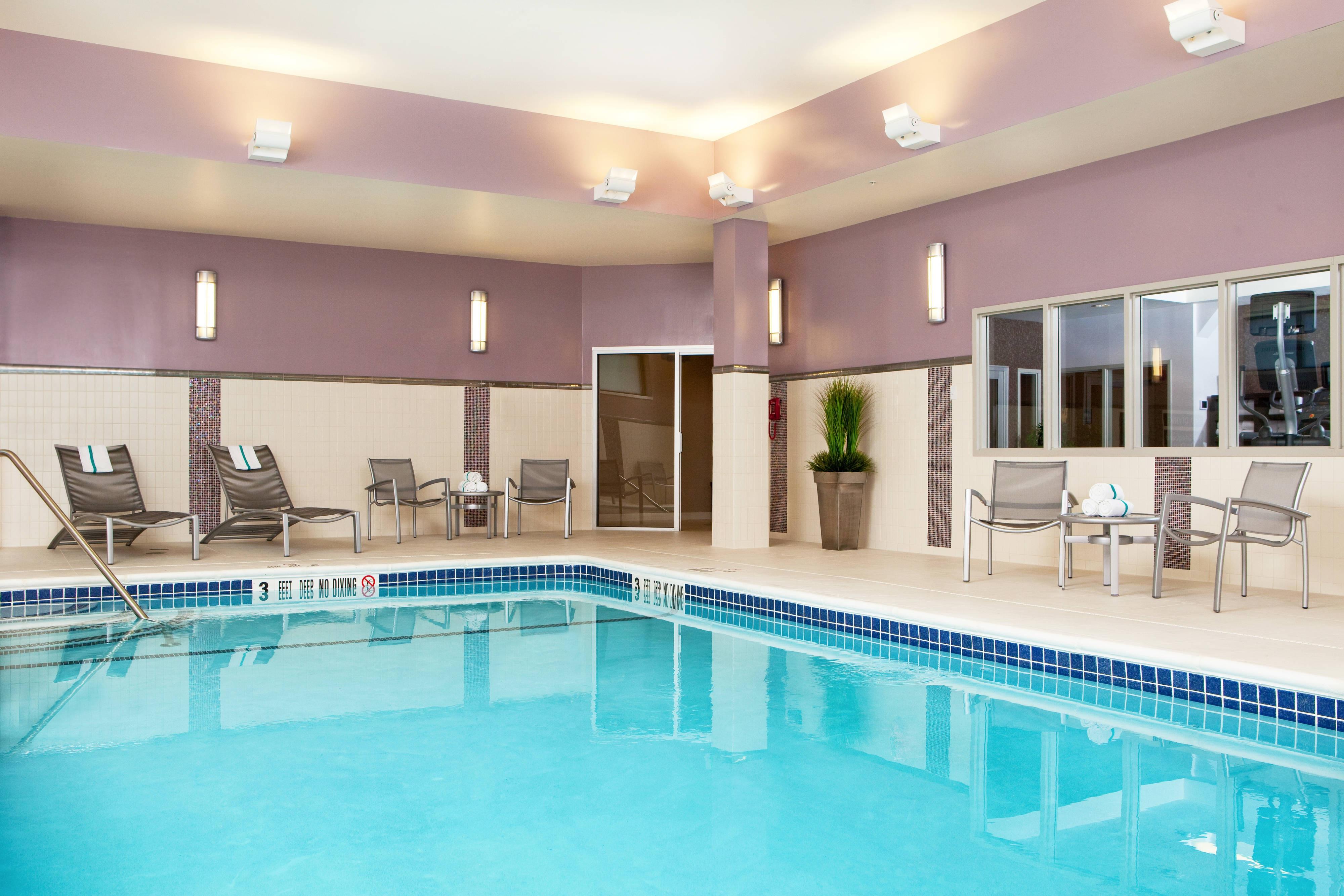 Indoor Heated Pool with ADA Lift