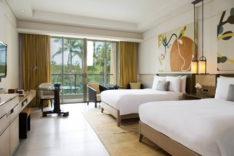 Deluxe Twin/Twin Guest Room
