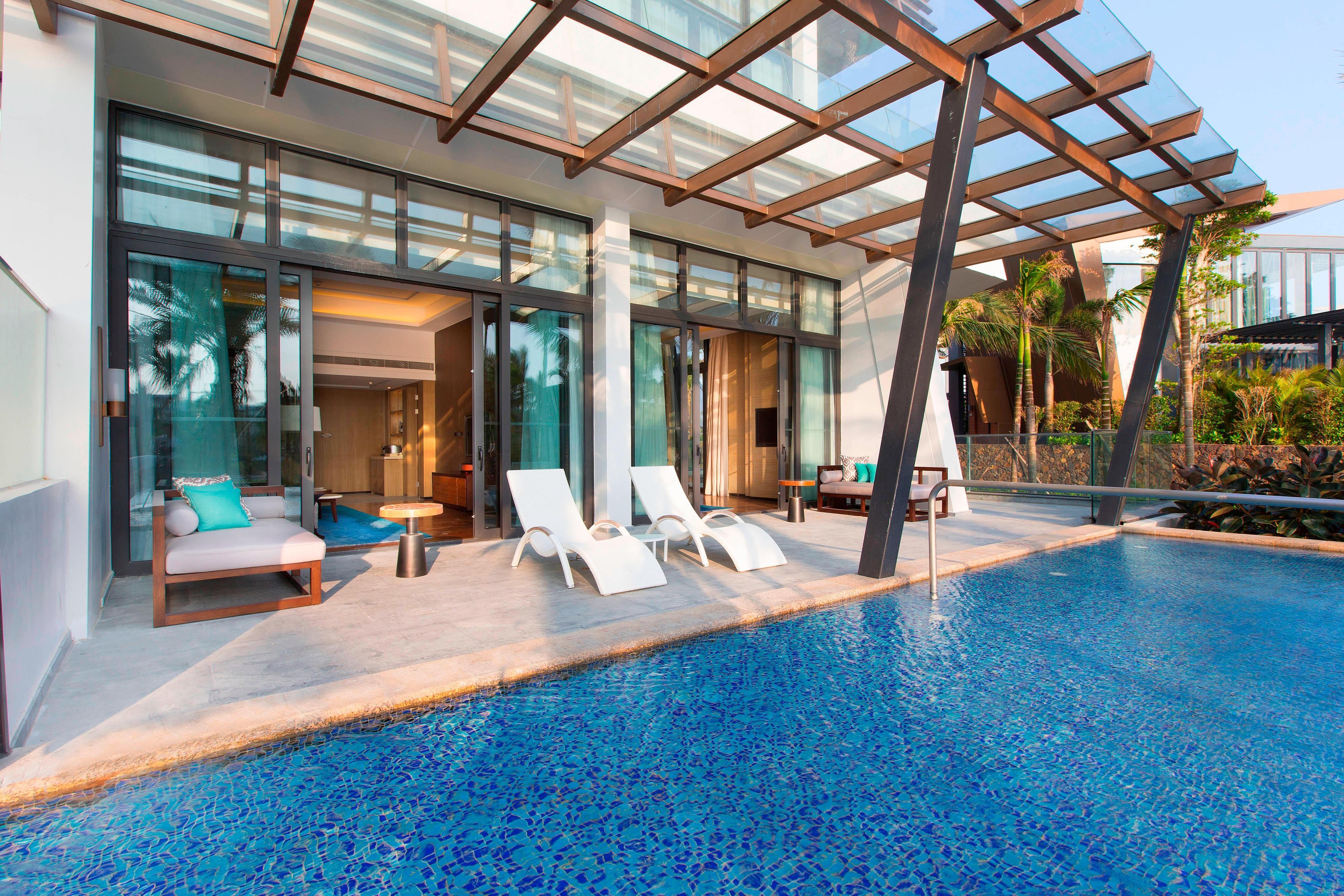 Lagoon Suite - Balcony