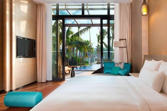 Lagoon Suite - Bedroom