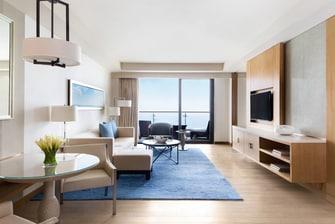 Ocean View Suite – Living Area