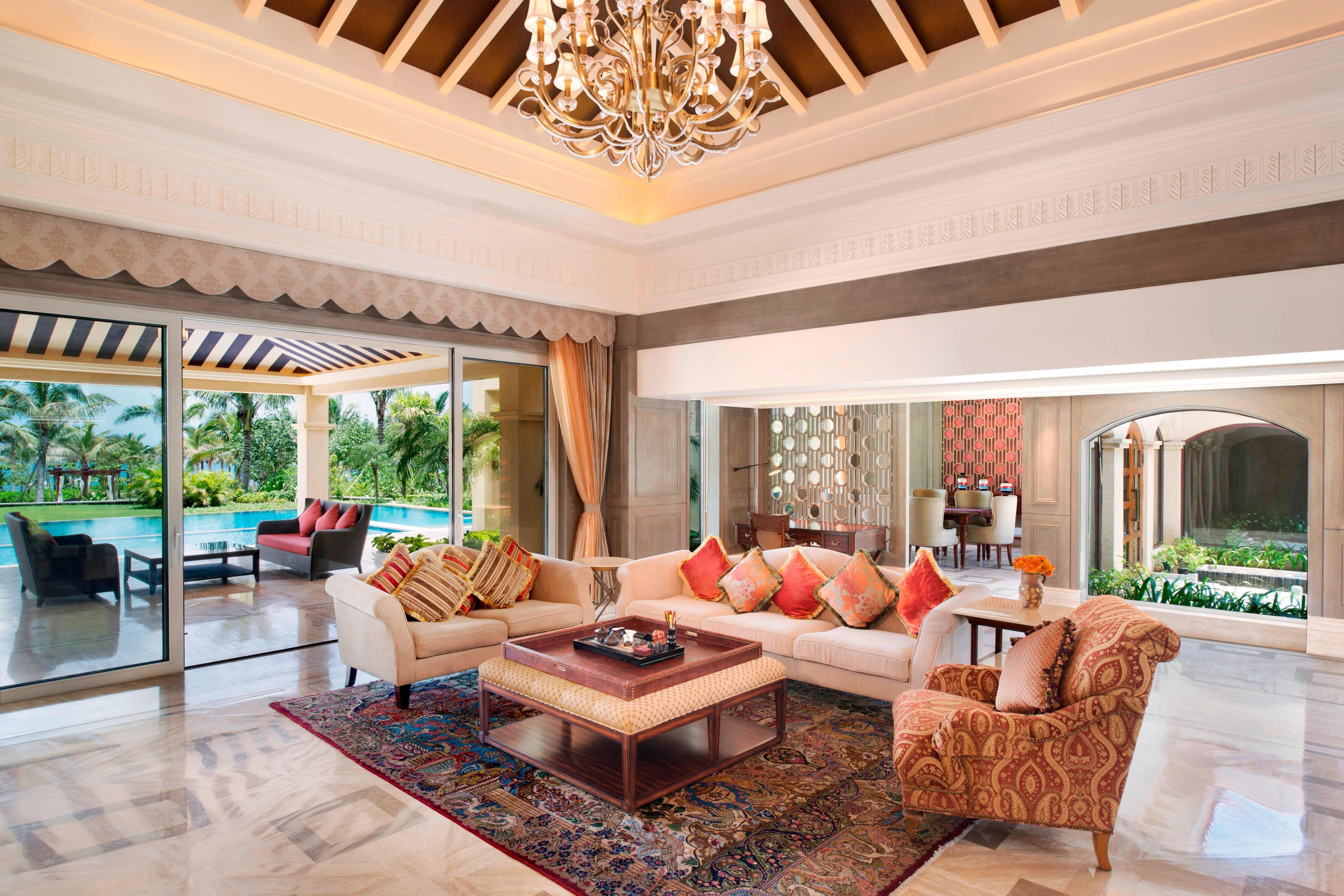 Presidential Villa Living Room