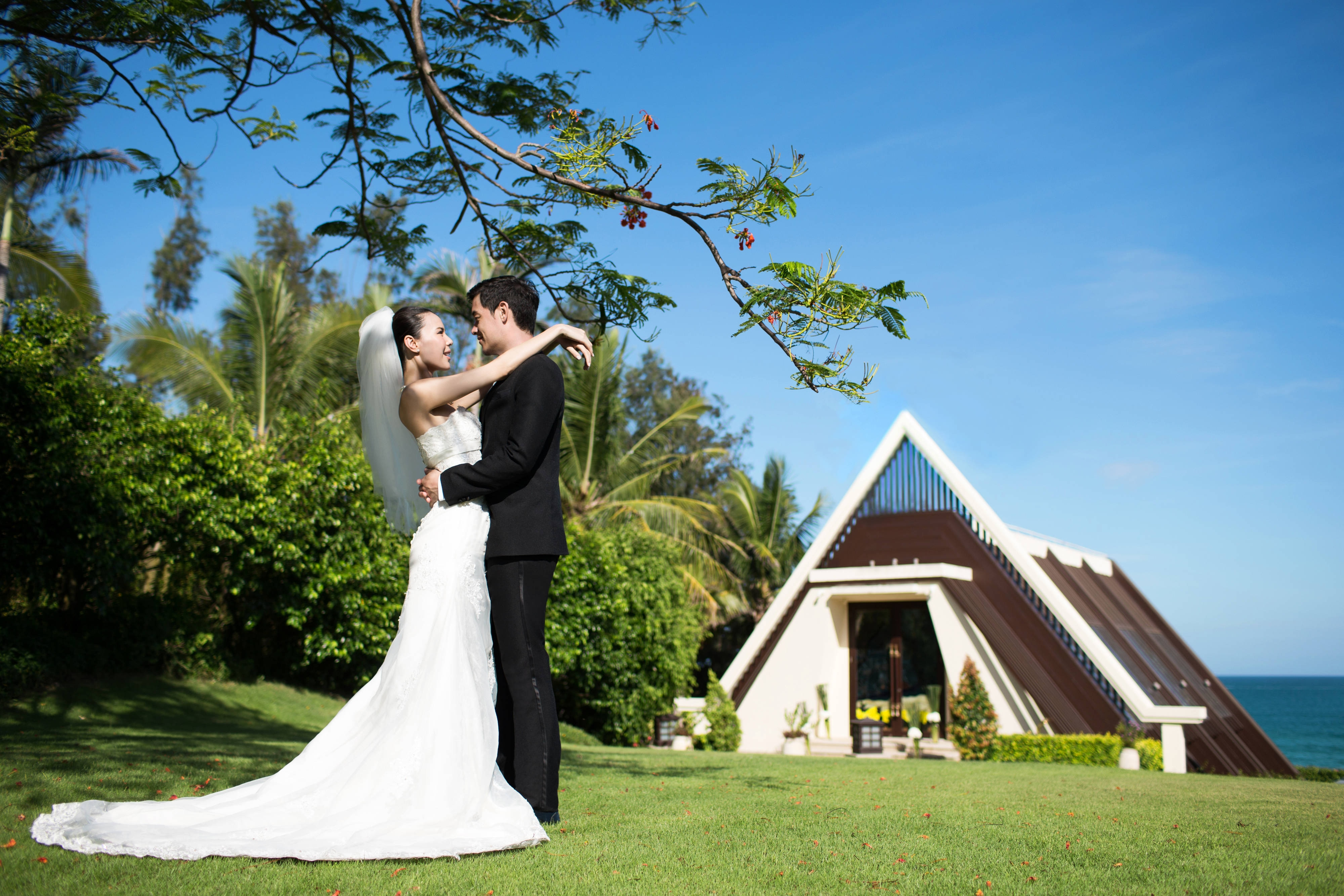 wedding chapel in Sanya