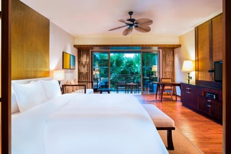 Deluxe Room Bedroom