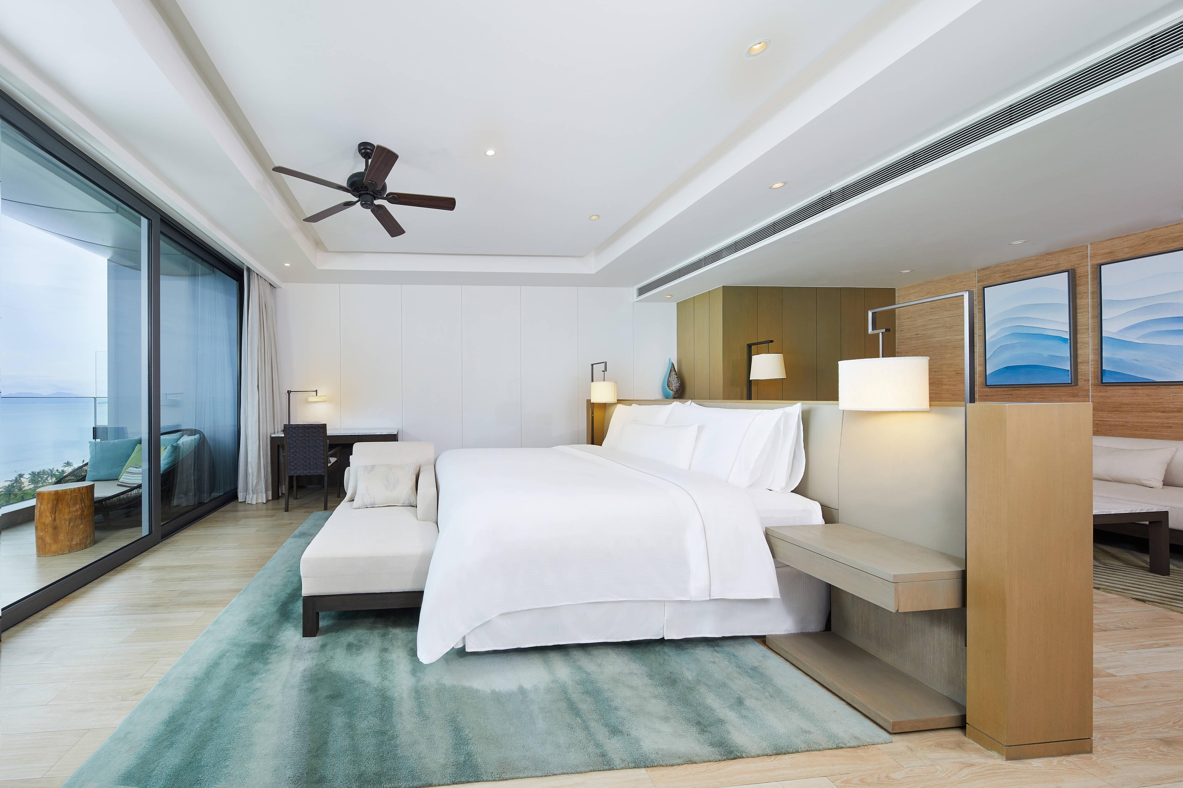 Номер с двуспальной кроватью (King) и видом на океан