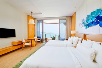 Deluxe Sea View Twin Room