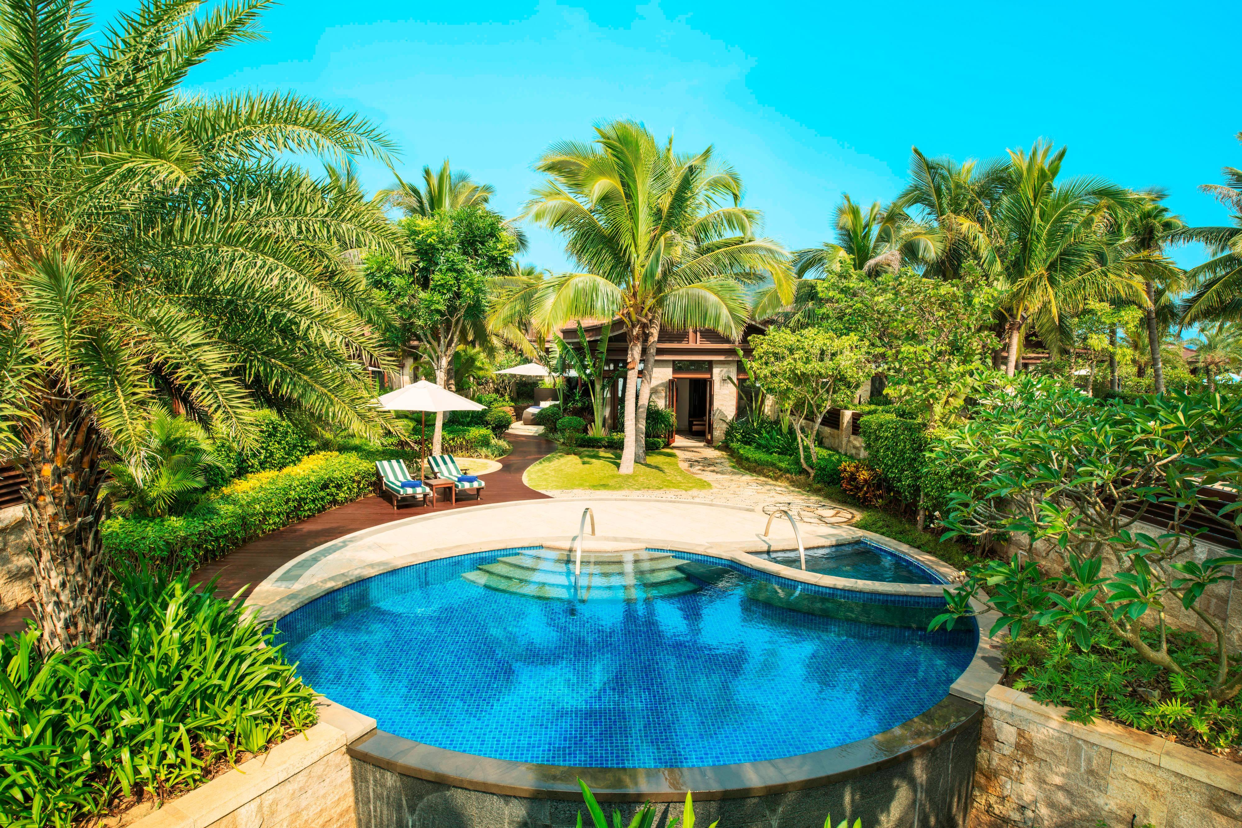Beach Villa - Garden