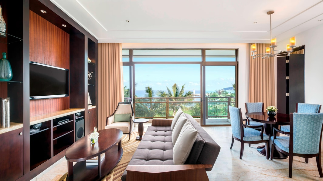 St Regis Ocean View Suite