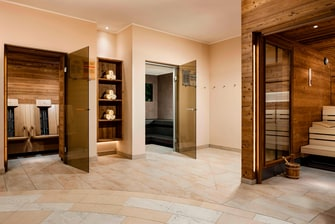 Sauna SPA area
