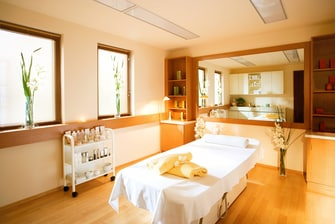 Jagdhof Wellness Behandlungsraum / Treatment Room