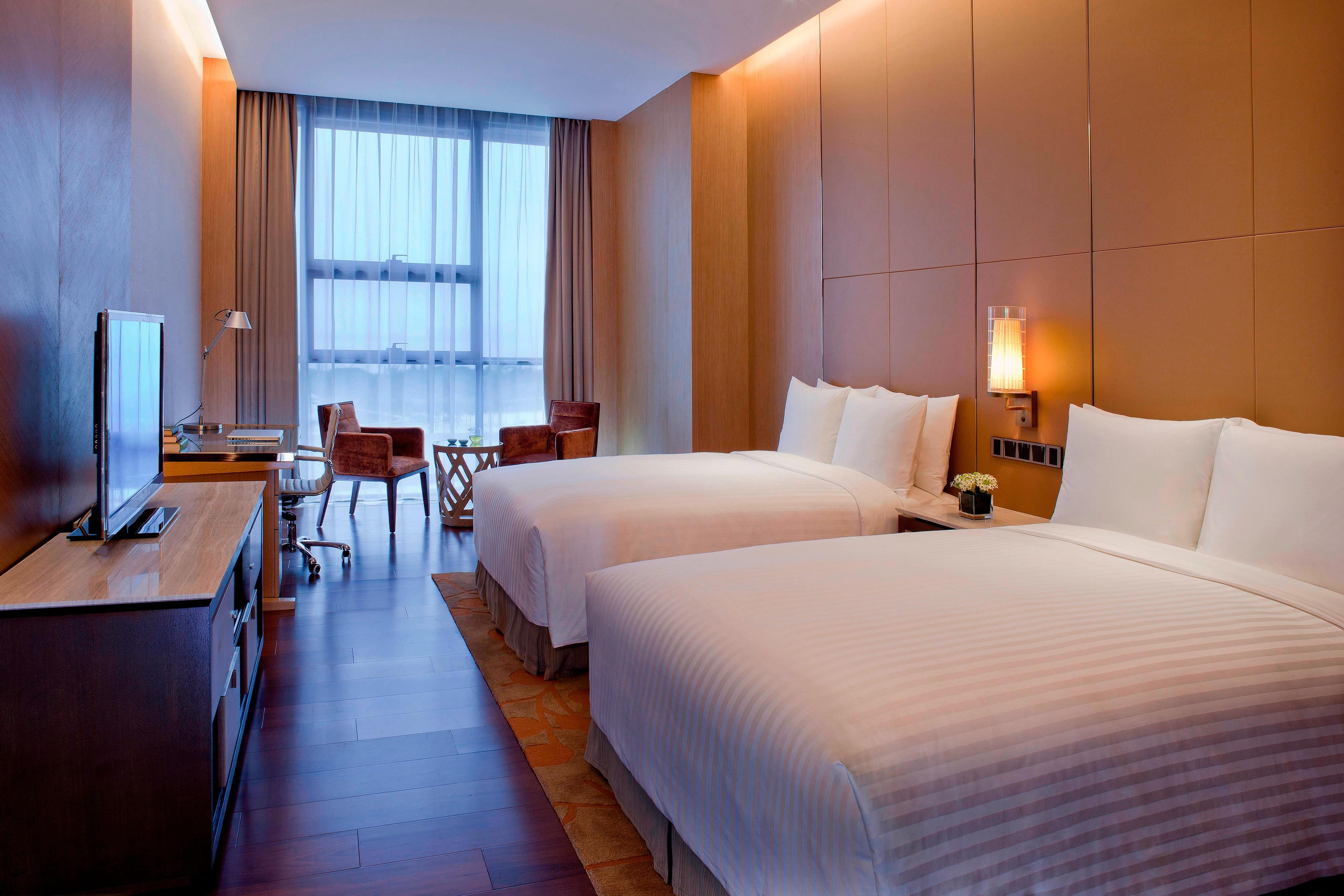 Appartement à troischambres–chambre avec lits jumeaux