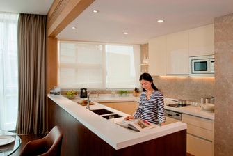 Two-Bedroom Apartment - Kitchen