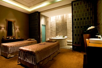 Touch spa treatment Room