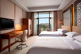 Deluxe Lake View Twin Room