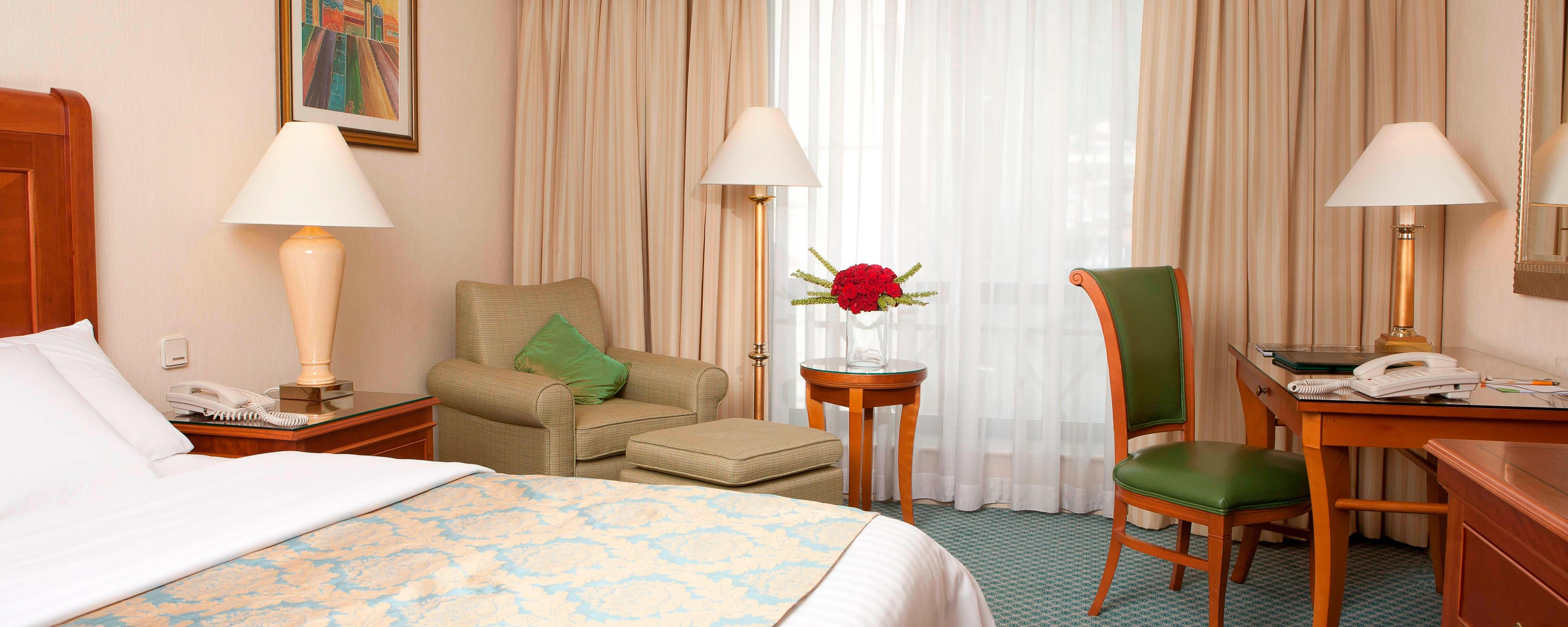 Quarto Deluxe King no hotel Courtyard em Tbilisi