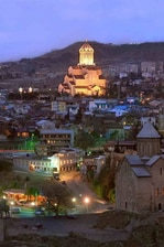 Holy Trinity Cathedral in Tbilisi