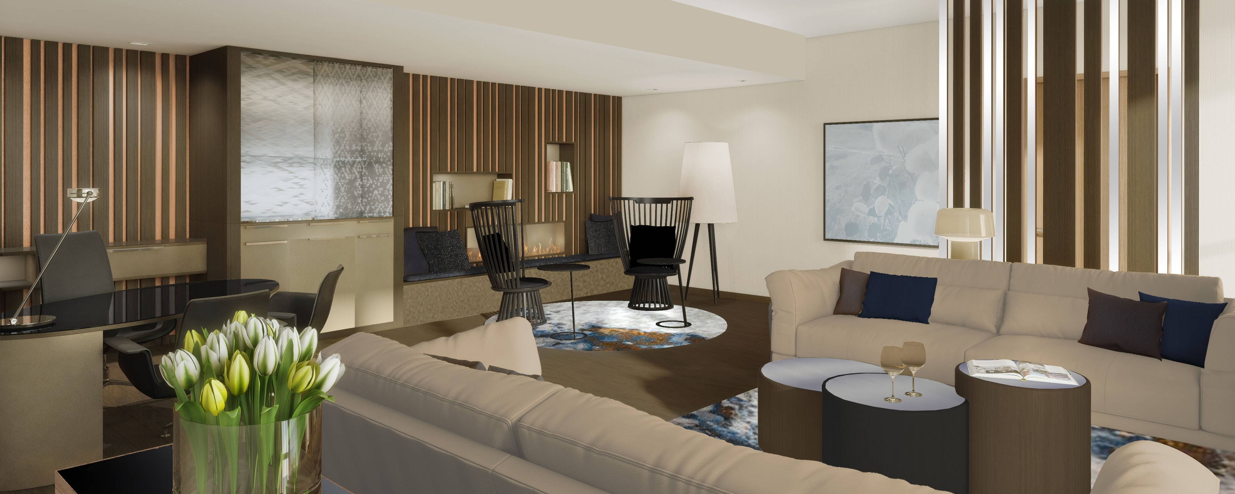 Royal Suite - Rendering