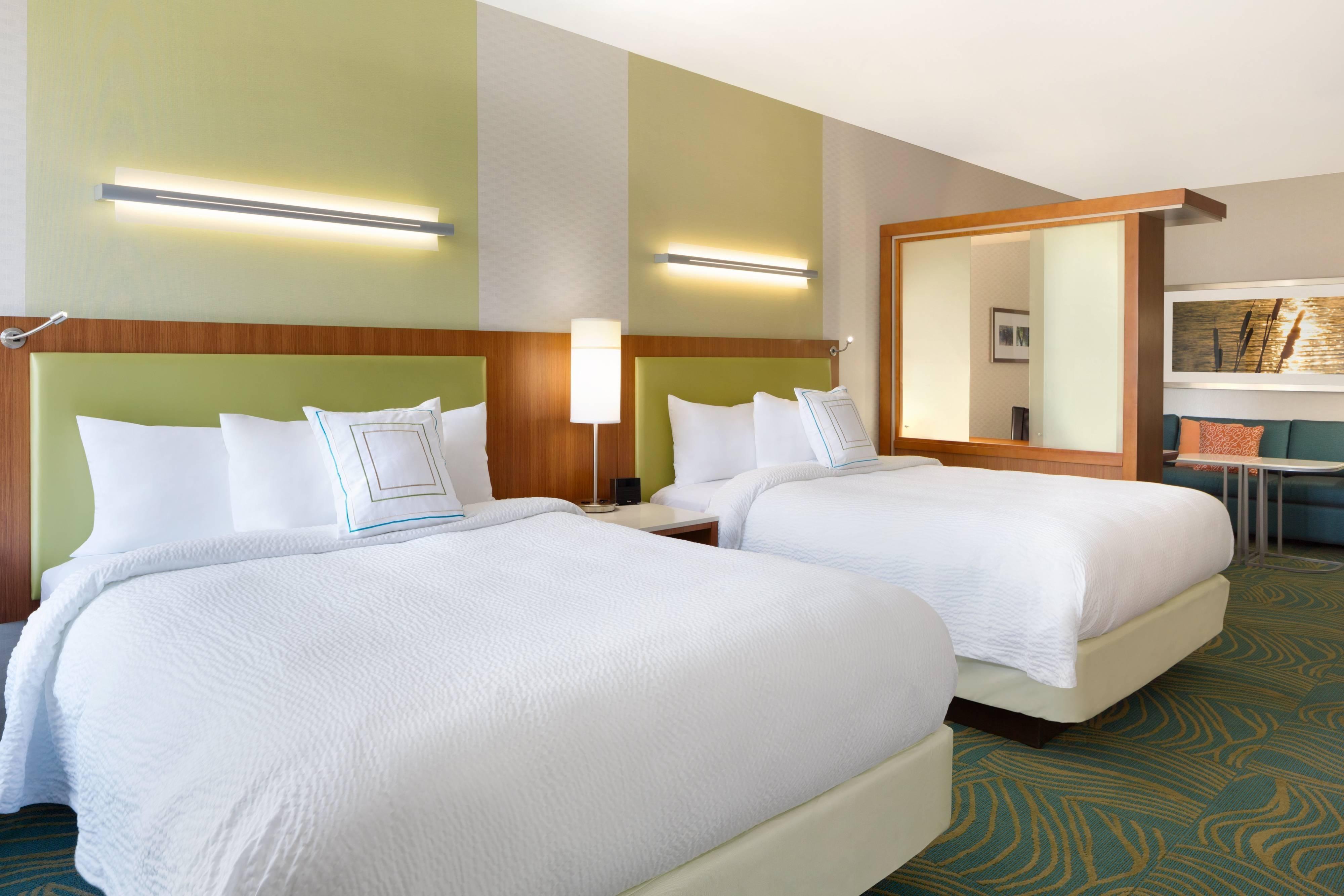 Suite mit zwei Queensize-Betten - Schlafbereich