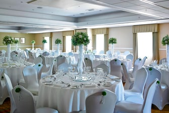Thurnham Suite – Wedding Setup