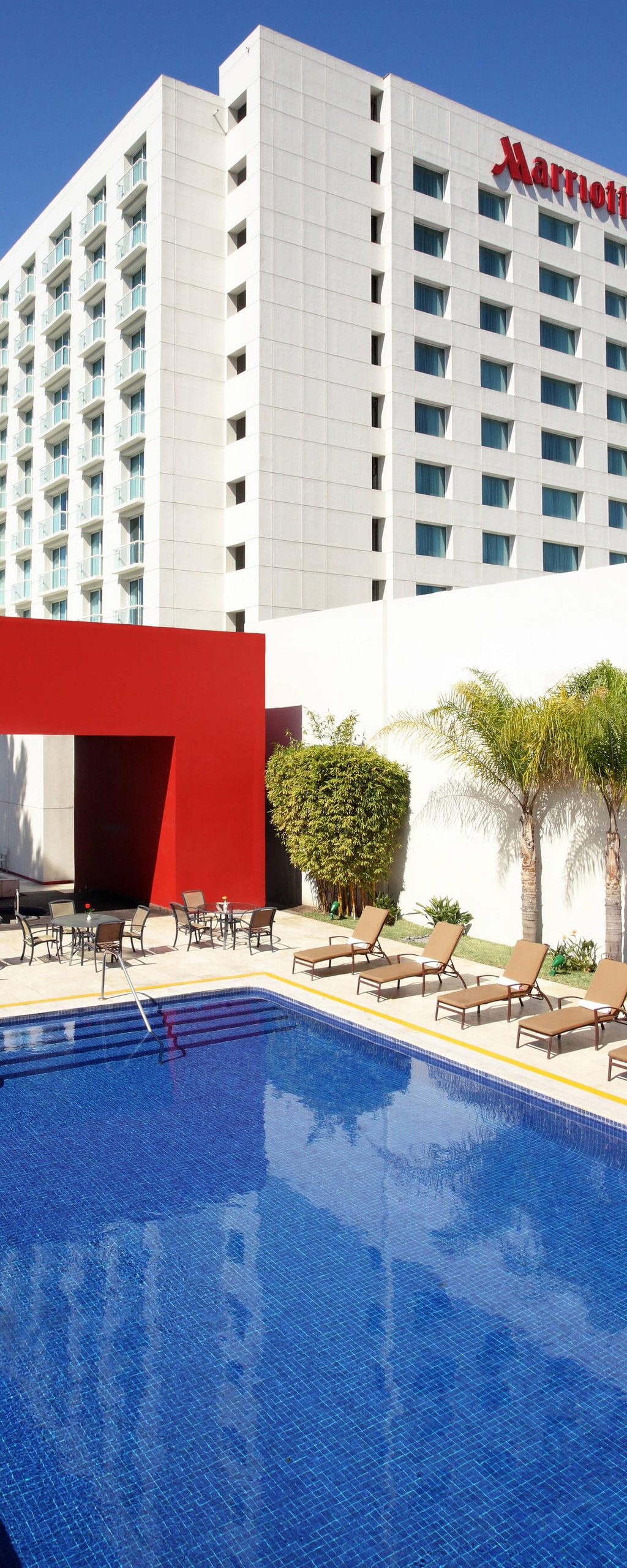 Marriott Tijuana Hotel Pool