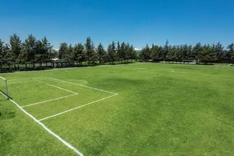 Campo de fútbol en Toluca