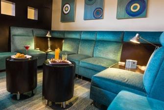 Lounge con TV