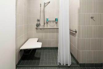 Accessible Bathroom - Shower