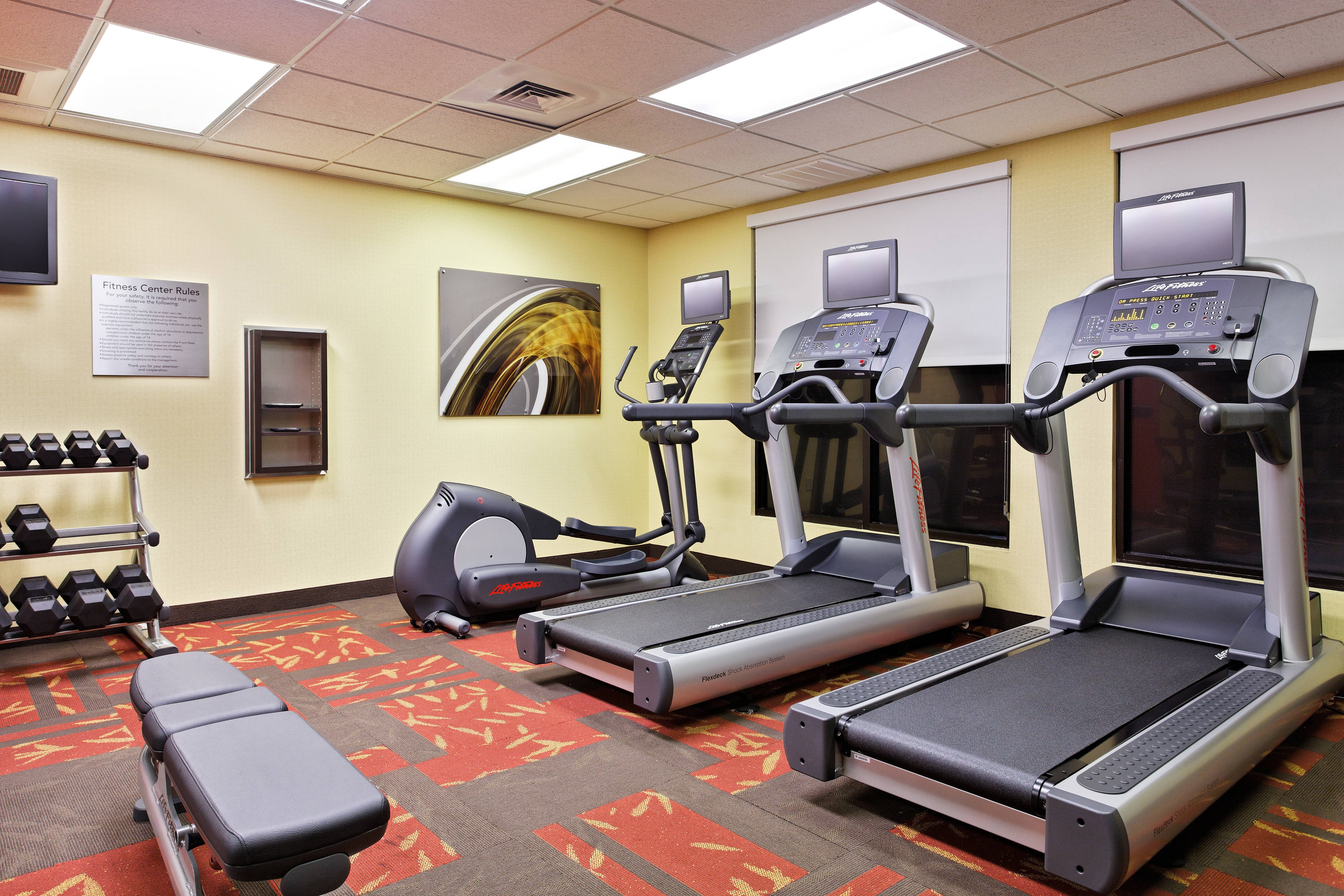 hotel fitness center in tallahassee