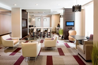 Tallahassee Extended Stay Hotel Lobby