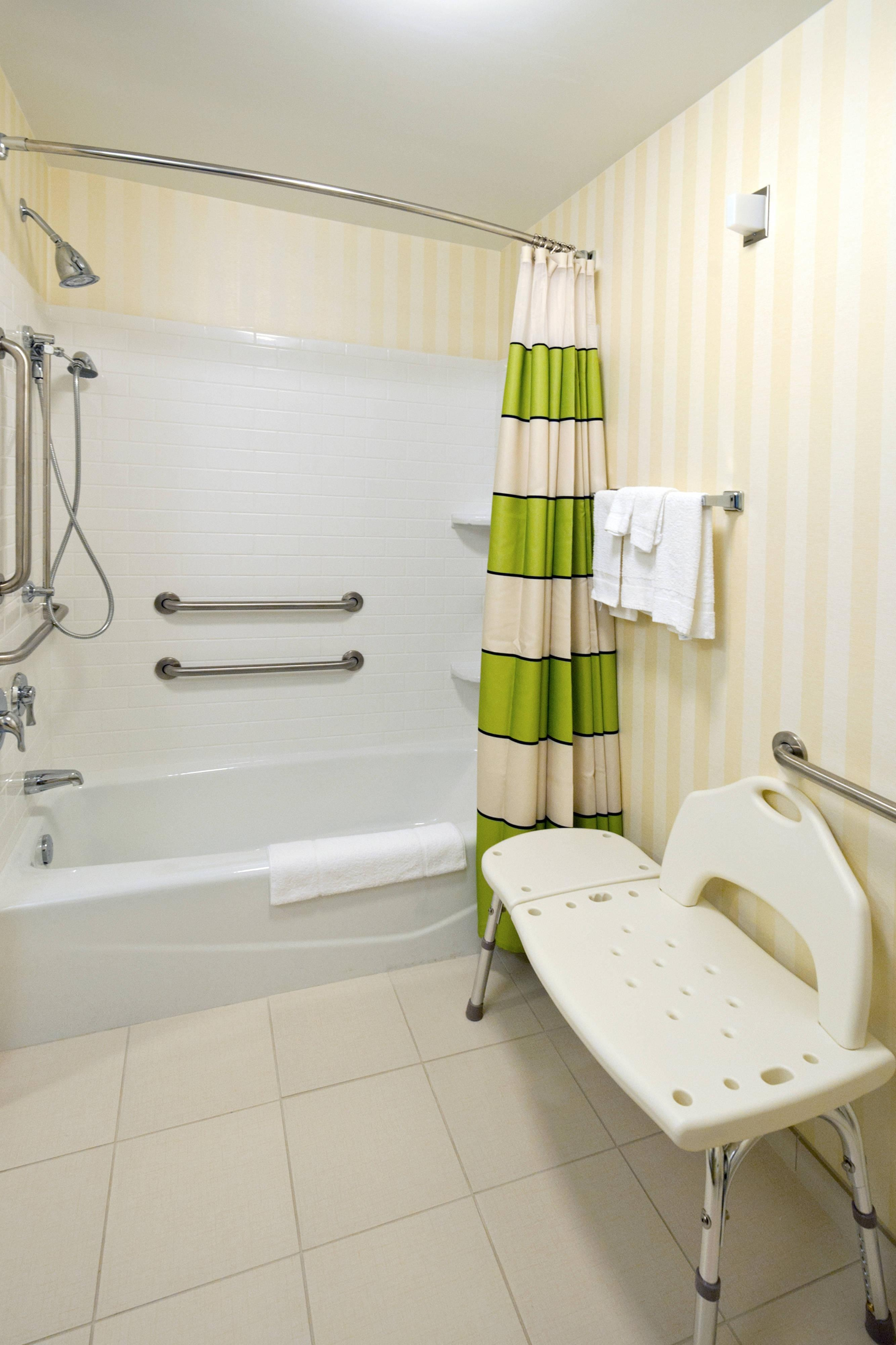 Accessible Guest Bathroom - Tallahassee hotel