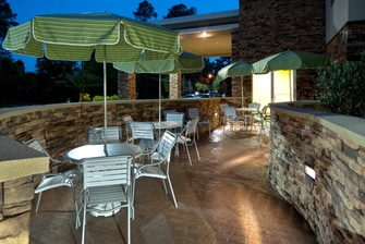 Patio Section - Tallahassee, FL hotel