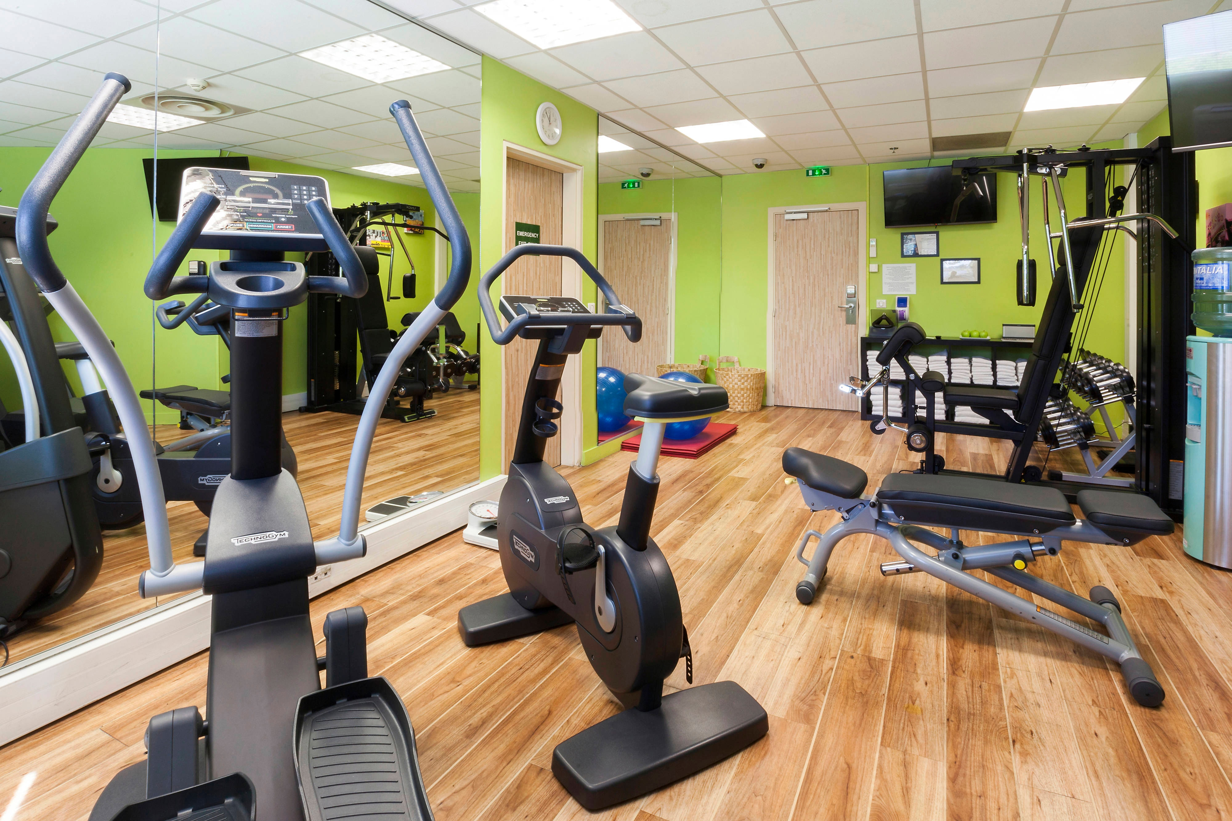 Fitness Center at Toulouse hotel