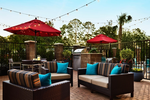 TownePlace Suites Outdoor Grill