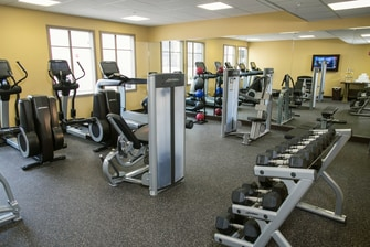 Hotel Gym in Tampa