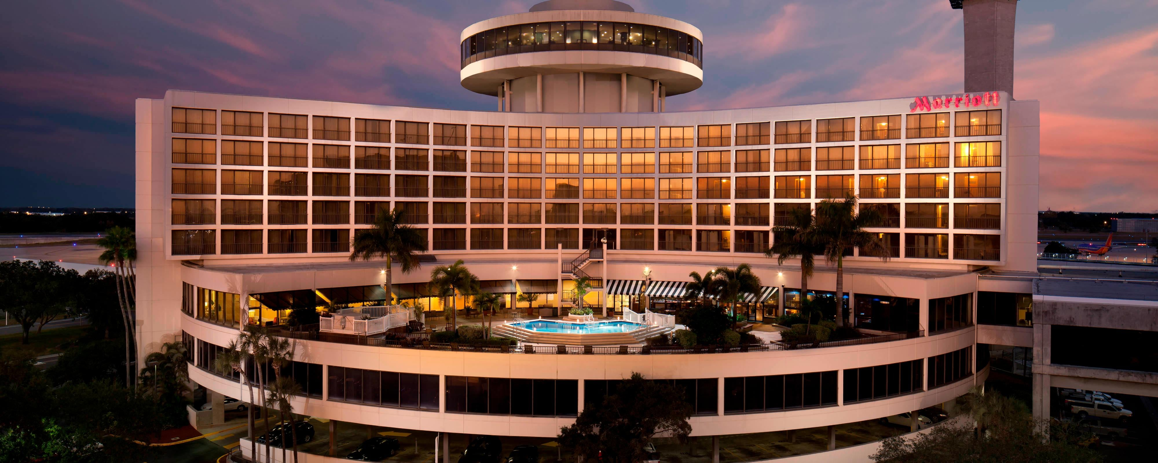 Tampa Airport Marriott Exterior