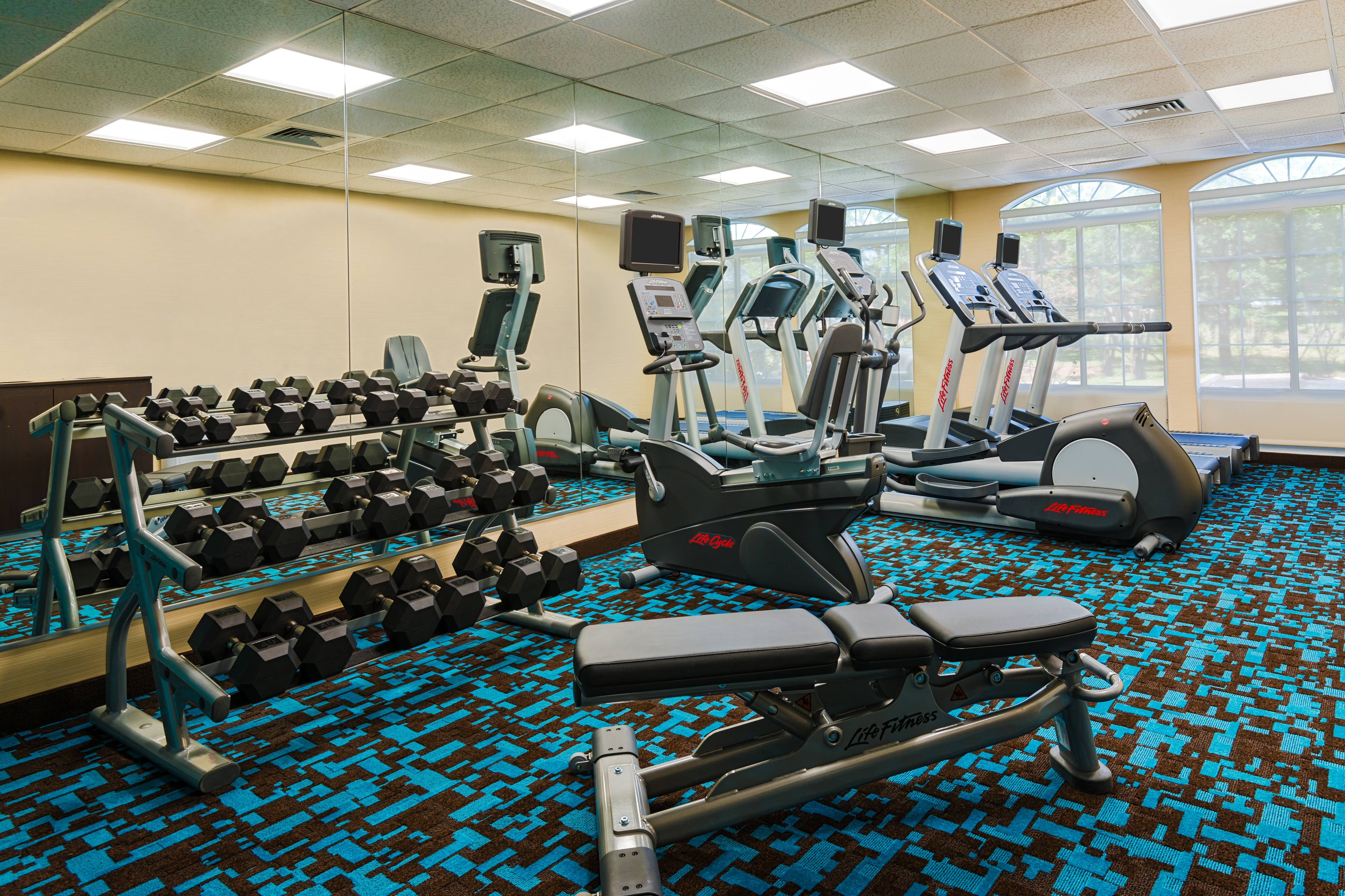 Fairfield Inn & Suites Clearwater fitness center