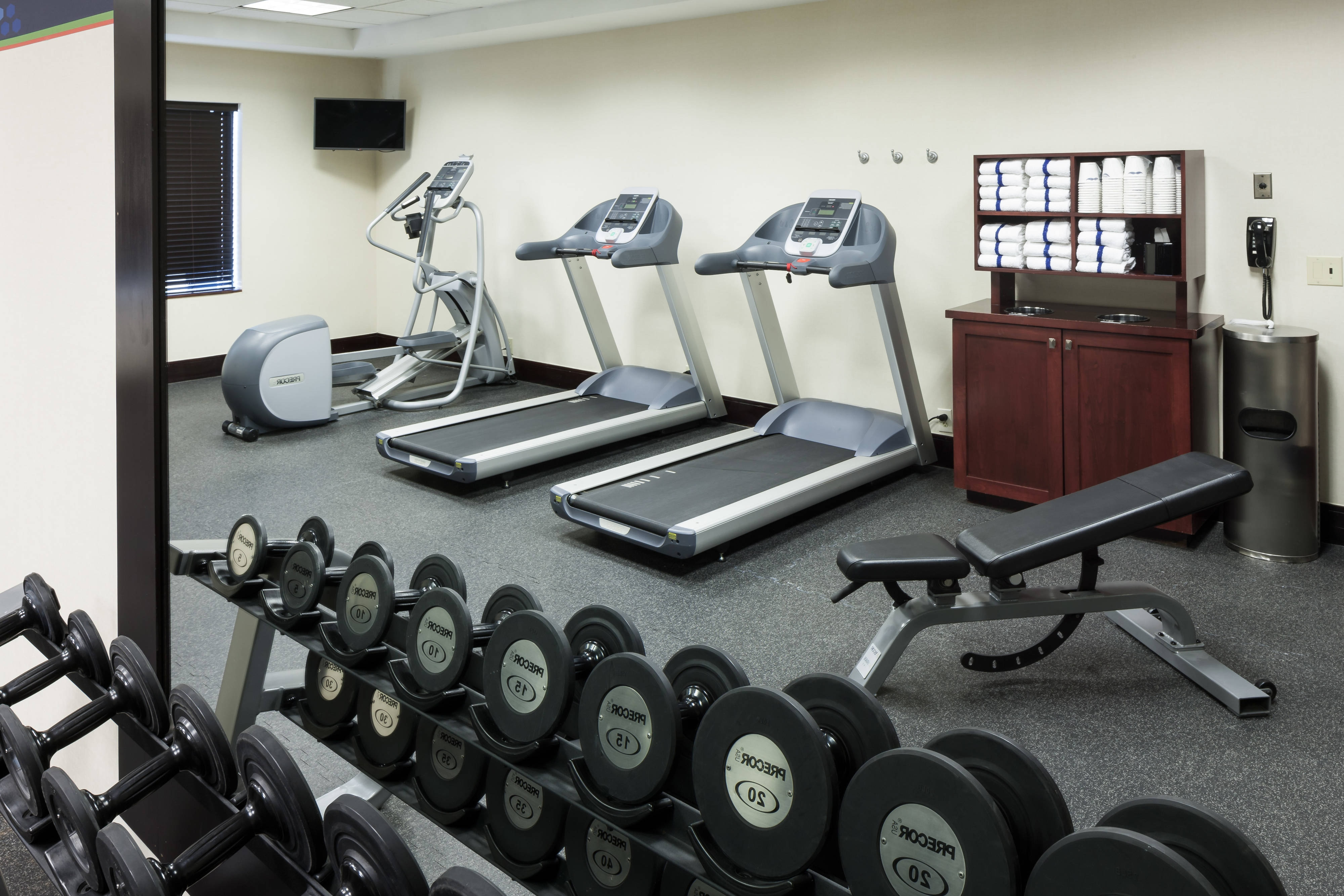 Residence Inn Lakeland exercise equipment