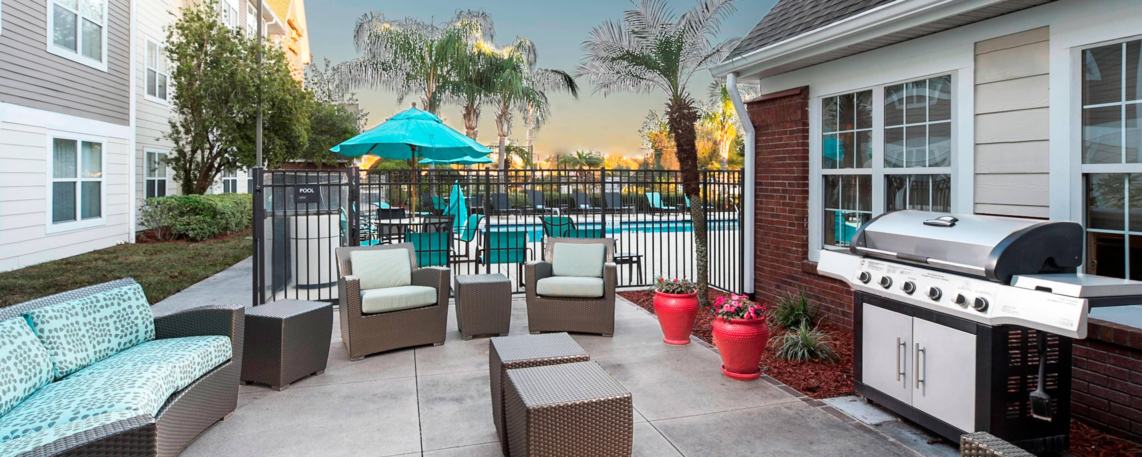 Residence Inn Lakeland social space