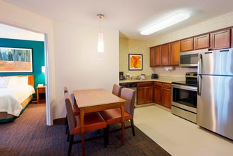 Our fuilly equipped kitchens feature a stove-top, microwave, dishwasher and refrigerator.