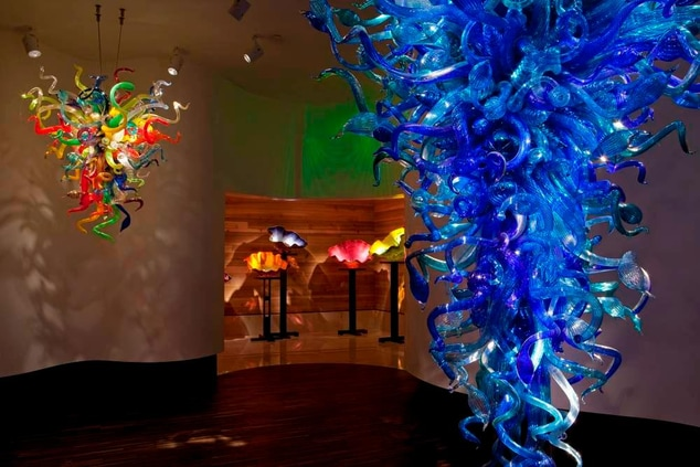 Moreans Arts Center - Chihuly Collection
