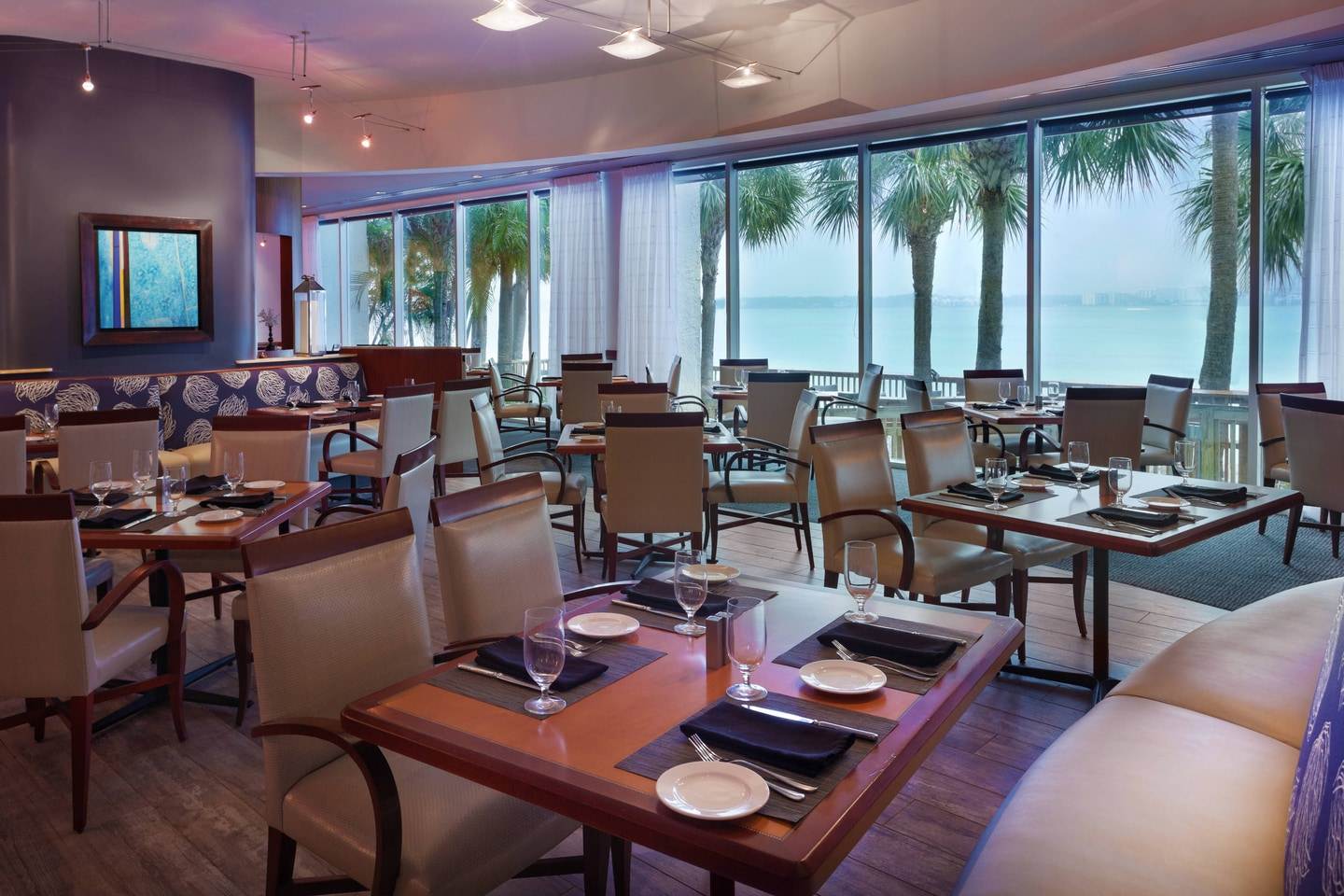 Clearwater Beach Marriott Restaurant Views