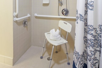 Two-Bedroom Suite Accessible Bathroom