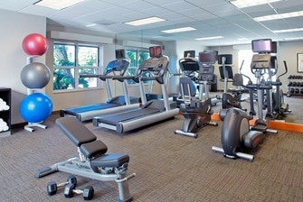 Hotel gym in Clearwater FL
