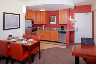 Hotel Kitchenette in Clearwater FL