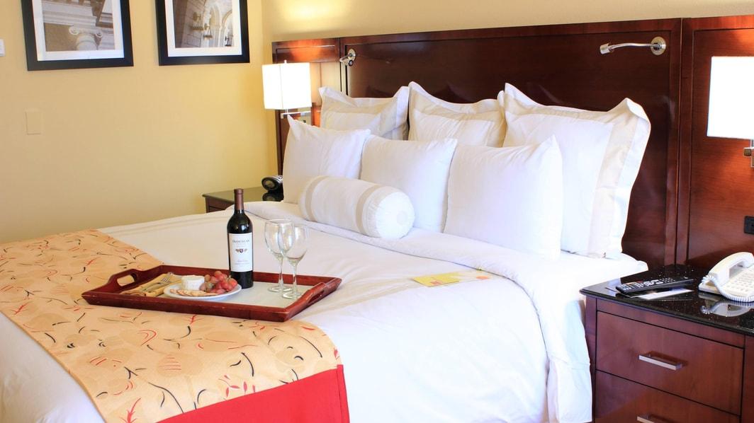 Marriott Clearwater Concierge Level Room