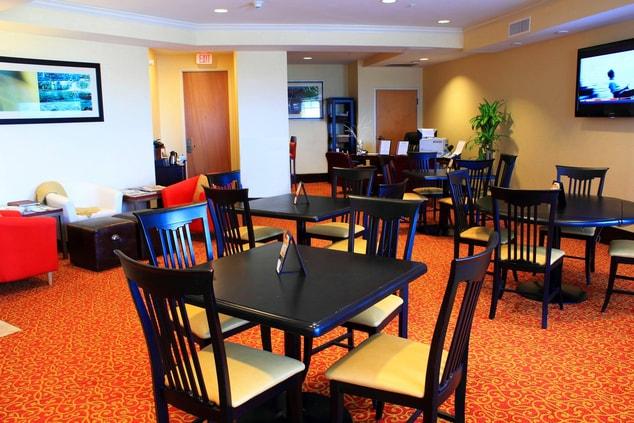 St. Petersburg Marriott Concierge Lounge